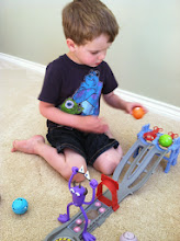 Photo: Time to PLAY!!  The Toxic Race Playset is a HIT!