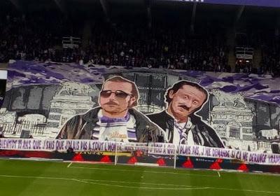Anderlecht-fans ontplooien tifo die niet iedereen begreep: hierbij de verklaring