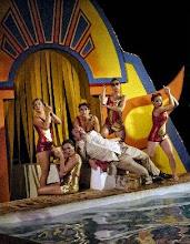"""Photo: Juan Duque www.juanduque.net""""Swimming Swing (el Musical)""""dirigido por Mariona BlanchProducido por Sala CeroEstreno en 2008- Festival Palma del Río(Ensayos) www.juanduque.net"""