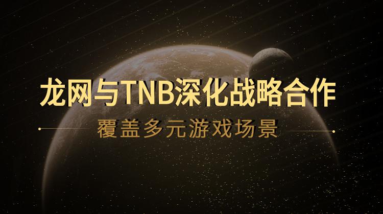 DragonEx龙网与TNB深化战略合作,区块链+游戏四大应用场景已逐一落地