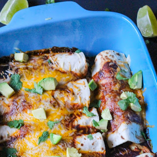 Red Pulled Pork Enchiladas with JalapeñO Corn and Cheese Filling Recipe