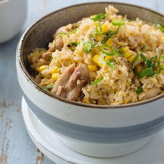 Chicken And Corn Fried Rice