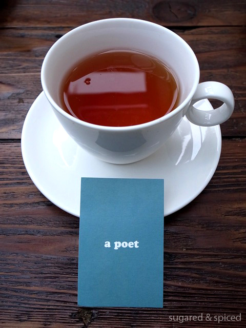 【Cindy的美食品賞】台北 a poet(中英對照)