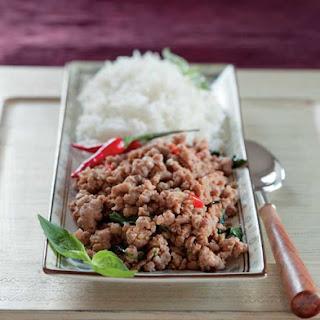 Thai Basil Pork.