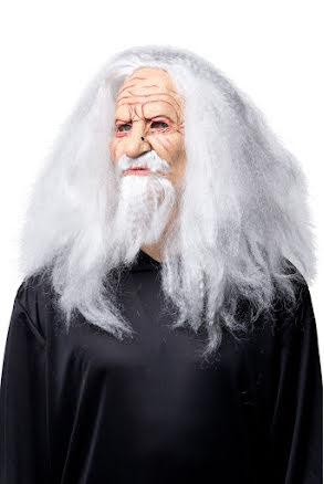 Mask, trollkarl med hår