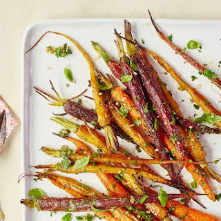 Perfect Roasted Baby Carrots.