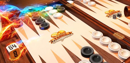 Backgammon Pasha: Free online dice and table game! APK poster