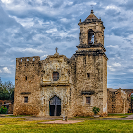 San Antonio Mission by Buddy Woods - Buildings & Architecture Places of Worship ( mission, church, san antonio, churches, building )