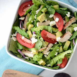 Chopped Chicken Avocado Salad