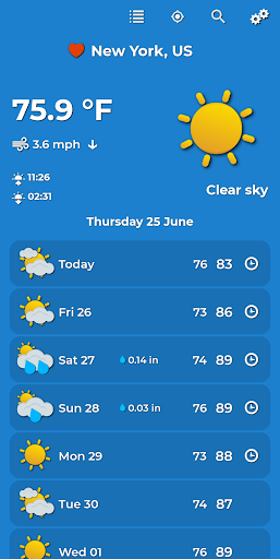 Weather Forecast Apk 1