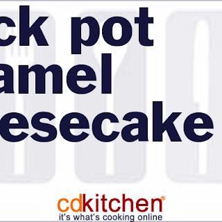 Slow Cooker Caramel Cheesecake
