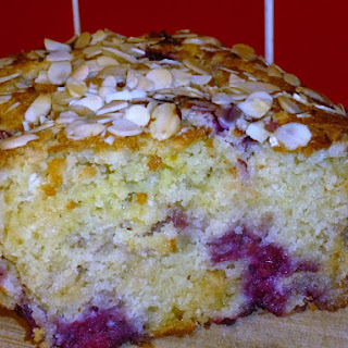 Raspberry and White Chocolate Loaf