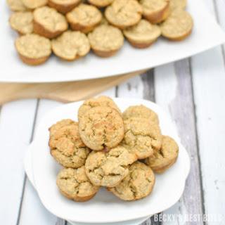 Blender Peanut Butter Banana Oatmeal Muffins