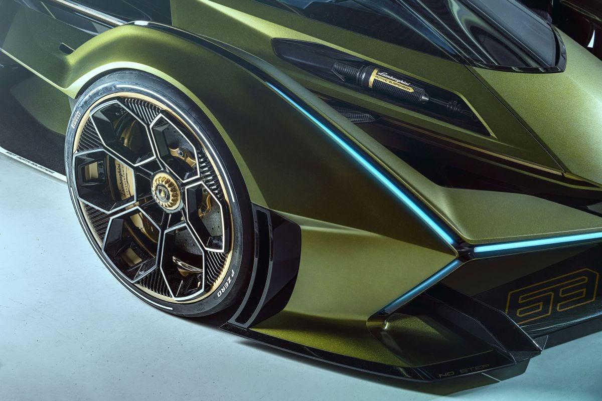 Lamborghini reveals mind blowing Lambo V12 Vision Gran Turismo concept