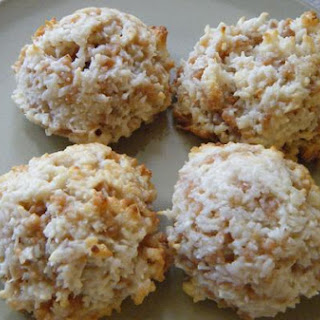 Coconut Toffee Macaroons