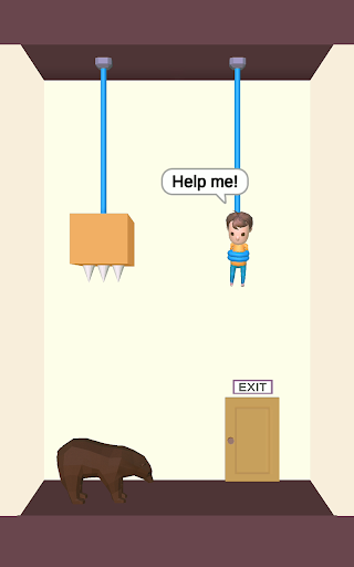 Rescue Cut - Rope Puzzle apkpoly screenshots 7