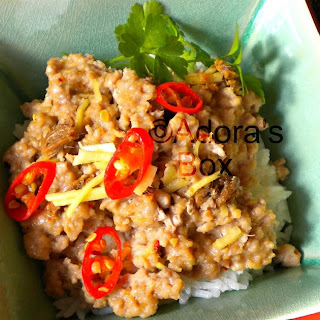 STEAMED PORK with ANCHOVIES and GINGER Recipe