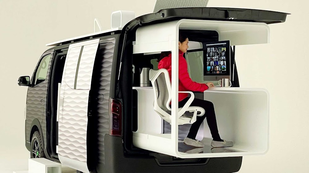 A Nissan that allows you to work from anywhere