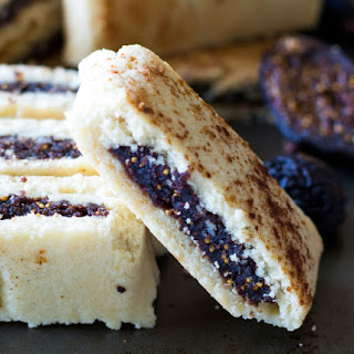 Healthy Homemade Fig Newton Cookies.