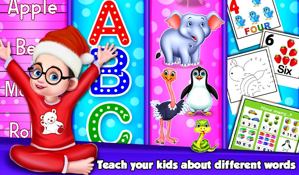 Christmas Counting Activities For Kids- screenshot