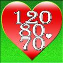 Blood Pressure Log Pro icon