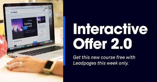 Yours Free: The Interactive Offer 2.0