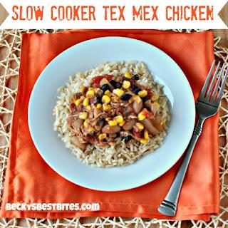Slow Cooker Tex Mex Chicken