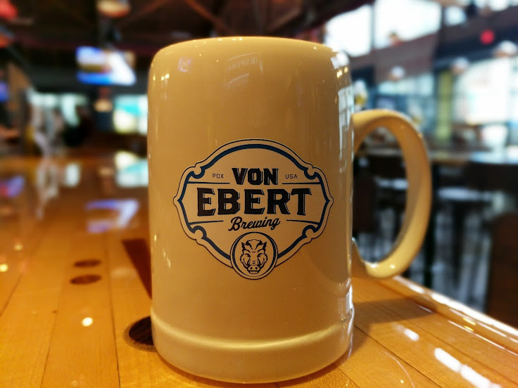 Want to become a regular? Join the Stein Society at Von Ebert. Photo: Nick Rivers.