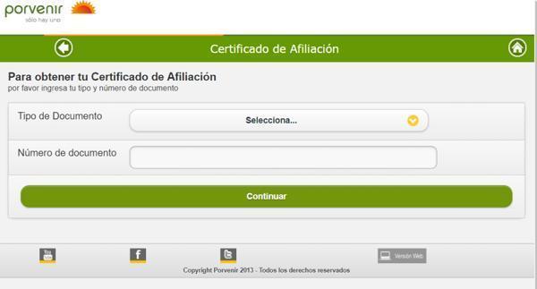 descargar certificado porvenir paso 2