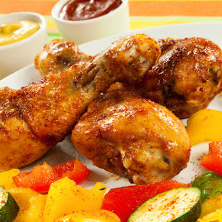 Quick and Simple Paleo Honey coated chicken Drumsticks