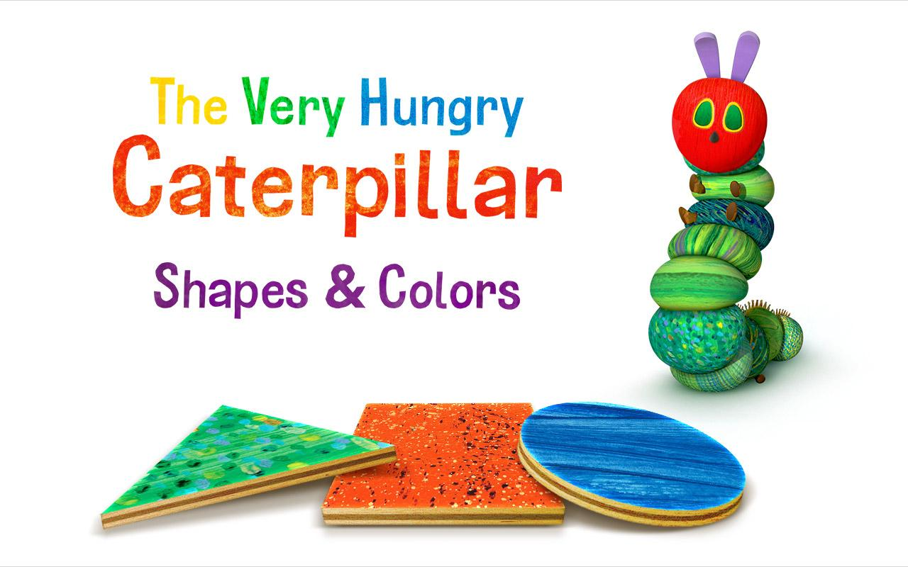 Caterpillar Shapes & Colors- screenshot