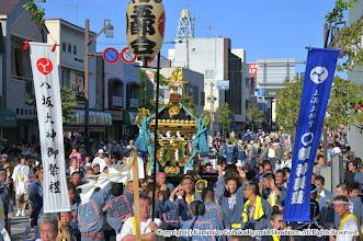 Photo: 【平成21年(2009) 本宮】  氏子回りも無事終了し、祭典本部前に到着する。