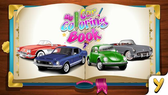 my car coloring book screenshot thumbnail - Cars Coloring Book