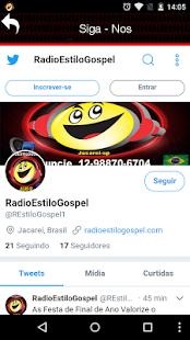 Rádio Estilo Gospel - náhled