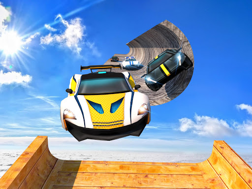 Extreme GT Racing Car Stunts Races screenshots 2