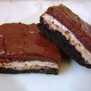 Frosted Marshmallow Brownies.