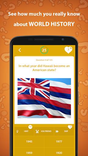 History Trivia Quiz 5.0.0 screenshots 3