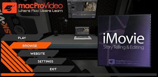 Learn Story Telling and Editing in iMovie, from this course by macProVideo 102!