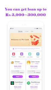 One Stop Online Loan Service Platform-We Cash 1