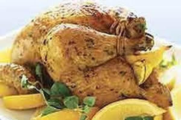Greek Style Roasted Chicken Recipe