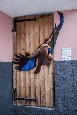 porta decorata di Guarlotti Eleonora