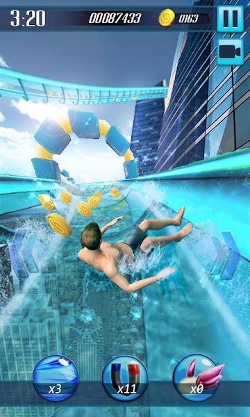 Water Slide 3D v1.11 (Mod)