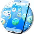 Underwater Emojis Locker Theme
