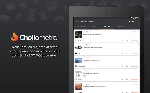 Chollometro – Chollos, ofertas y juegos gratis for PC