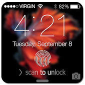 Fingerprint LockScreen Prank6S