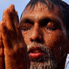 Deep Prayer by Domi Chung - People Portraits of Men ( religion, thaipusam, prayer, male, asia, people, portrait, senior, asian,  )
