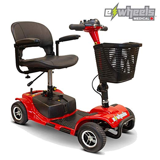 image of eWheels mobility scooter