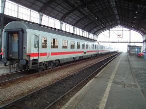 Photo: Legnica: Wagony składu EC240 relacji Kraków - Hamburg