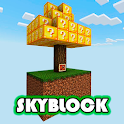 Lucky skyblock for minecraft pe icon