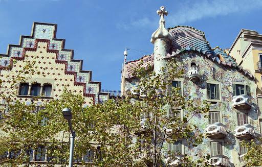 detail-of-Casa-Batllo-1.jpg - A detail of Casa Batillo  by Antonio Gaudi.